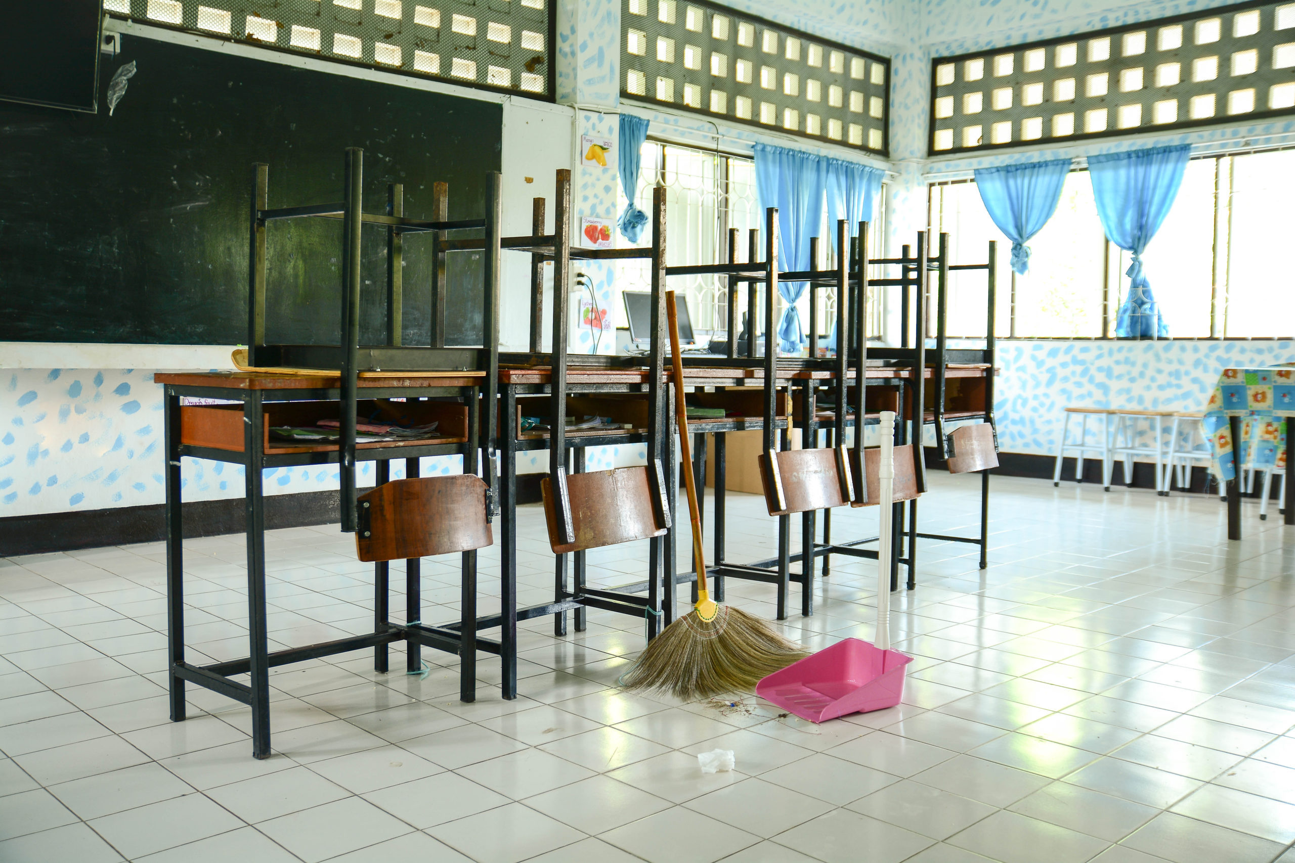 School cleaning - Commercial Cleaning Newcastle & Lake Macquarie - Flawless Clean
