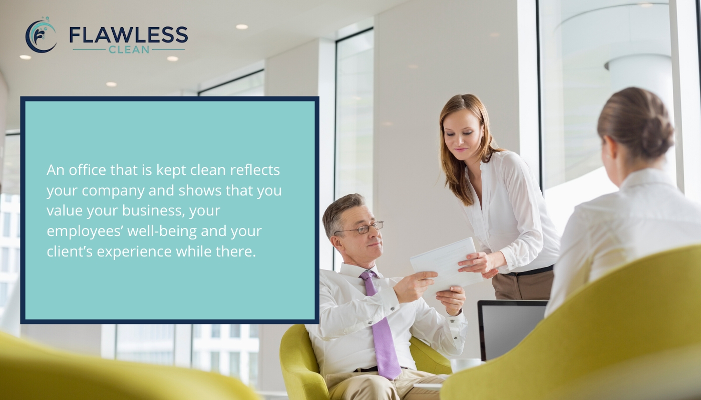 Impress clients and new employees