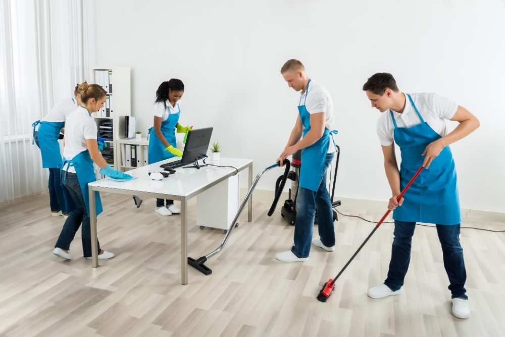 Commercial Cleaning.